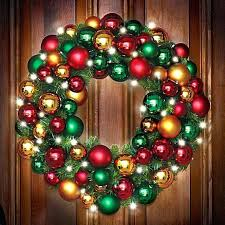 large lighted wreaths large outdoor lighted wreaths photo 1 lighting fixtures bathroom large lighted