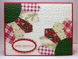 104 best Quilt Cards images on Pinterest | Cards, Paper and Cardmaking & handmade Christmas card by Bonnie Emmons ... two partial sunflowers ... luv Adamdwight.com