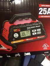 everstart battery everstart plus smart car battery charger 25a starter 2a trickle maintainer 12v