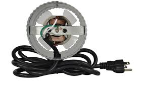 suncourt suncourt home inductor® corded in line duct fan™ db204c a 6 attached power cord