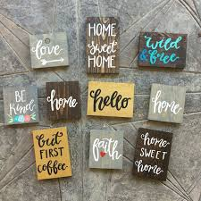 best 25 painted wooden signs ideas on wooden diy wood painting ideas