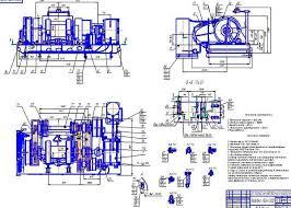 Модернизация вспомогательного тормоза буровой лебедки ЛБУ  Модернизация вспомогательного тормоза буровой лебедки ЛБУ 1200 Курсовая работа Оборудование для бурения нефтяных