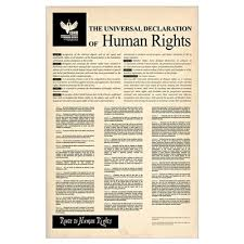 declaration of human rights poster universal declaration of human rights poster