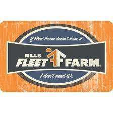 fleet farm gift card 15 00