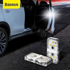 <b>Baseus</b> 2pcs LED Open <b>Car Door</b> Warning Light Magnet Indicator ...