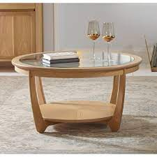 nathan coffee table in oak