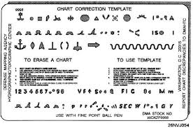Chart Correction Stencil Chart Correction Techniques Continued