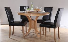 round dining table set for 4 throughout sets chairs tables with fitted decorations 19