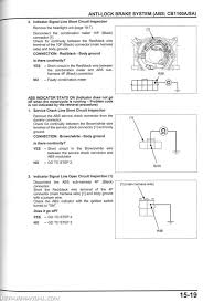 2013 2014 honda cb1100 a motorcycle service manual repair 2013 2014 honda cb1100 a service manual page 1