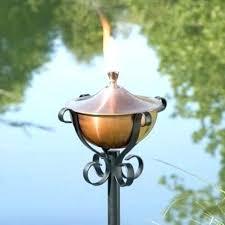 outdoor oil lamp