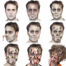 make up vampire ghost skeleton zombie fancy