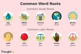 <b>50</b> Greek and Latin <b>Root</b> Words