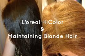 l oreal excellence hicolor insights and how to maintain blonde hair you