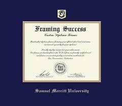 Custom Diploma Frames Certificate Frames Framing Success Samuel