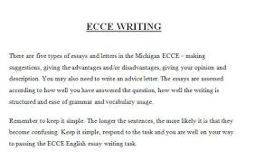 writing ecce writing