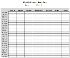 Weekly Planner Template | Writing ideas, resources,prompts ...