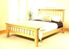 Wood Queen Size Bed Frame King Size Wooden Platform Bed King Bed ...
