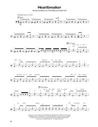 Heartbreaker By Pat Benatar Piano Vocal Guitar Right Hand Melody Digital Sheet Music