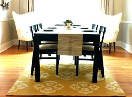 round table square rug best for under dining tables