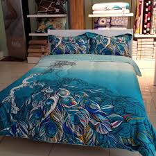 Peacock Colors Bedroom Total Fab Peacock Themed Peacock Colored Comforter And Bedding Sets