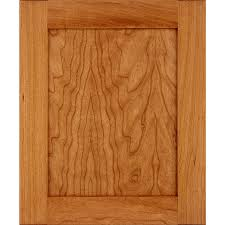 schuler cabinetry sugar creek 17 5 in x 14 5 in pecan stained cherry shaker cabinet