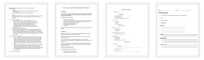 Outline Template - 197+ Samples, Examples, And Formats - Dotxes