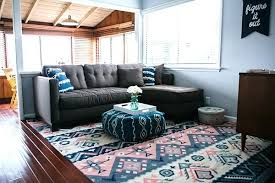 odds ends how to choose the right size rug for your room what living sectional lulu