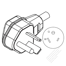 Usa canada nema 7 50p 2 p 3 wire grounding elbow
