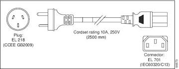 cisco ucs c210 installation and service guide cable and power figure