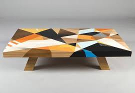 modern design furniture. Colorful Coffee Tables Modern Furniture Design Graffiti Brilliant Within 4