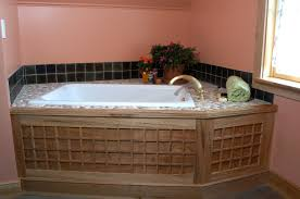 soaking tub surround