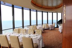 Heres A View From Cites Sky Lounge Onto The Dining Room Everyone