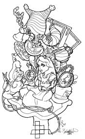 Atlantis Coloring Picture See More Alice