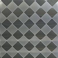 Stainless Supply | Stainless Steel Diamond Quilted Pattern & D6TT - 6