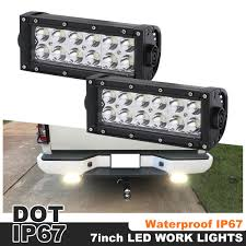 Waterproof Led Light Bar For Atv Details About 7inch 36w Led Spot Beam Work Light Bar Waterproof Fit For Jeep Atv Off Road