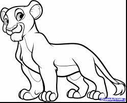 Lion King Coloring Pages Simba At Getdrawingscom Free For
