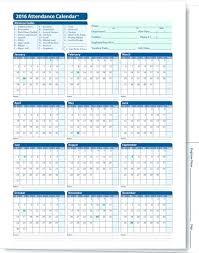 Absentee Calendar Attendance Record Template Excel Employee Monthly T Listoflinks Co