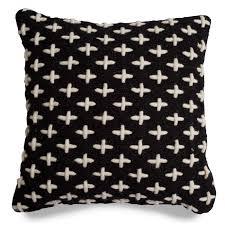 mima wool pillow  black throw pillows  blu dot