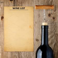 Free Wine List Template Download Download Free Wine List Template And Wine Bottle Food Drink S