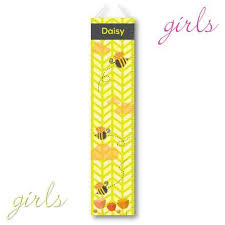 Personalized Honey Bees Growth Chart