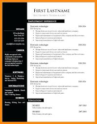 Resume Format Word Document Free Download Resume Format Downloads Putasgae Info