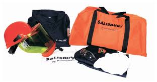 Honeywell Salisbury Pro Wear Arc Flash Protection Jacket Kits Gloves Glasses And Safety Lab Coats Aprons And Apparel