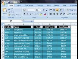 Boeing Stock Chart Yahoo Excel Vba Get Stock Quotes From Yahoo Finance Api Excel