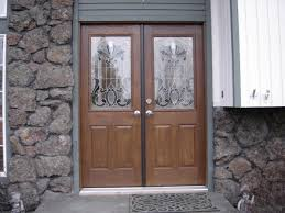 double front doorsFiberglass Double Entry Doors Prehung  Door Handles And Double Door