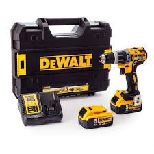 <b>DeWalt DCD796P2-QW</b> Brushless (2x5.0Ah Incl.) 18V Combi Drill - Kit