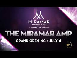 Grand Opening The Miramar Amphitheater At Regional Park 4th Of July Fireworks Celebration