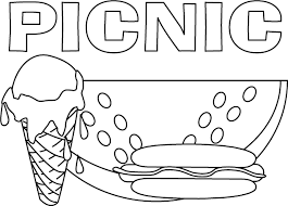 Small Picture Awesome Picnic Coloring Pages 84 In Coloring Pages Online with