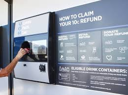 How Do Reverse Vending Machines Work Cool First Return And Earn Reverse Vending Machine To Open In Orange