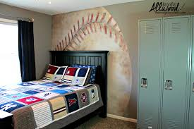 this is the related images of Baseball Bedroom Wallpaper