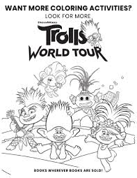 Print coloring pages by moving the cursor over an image and clicking on the printer icon in its upper right corner. Free Printable Trolls Coloring Pages Activity Sheets Zoom Backgrounds More Crazy Adventures In Parenting
